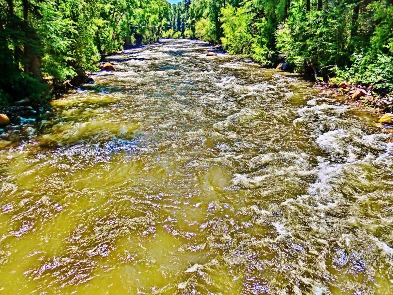Roaring Fork River, at Woody Creek, Below Aspen