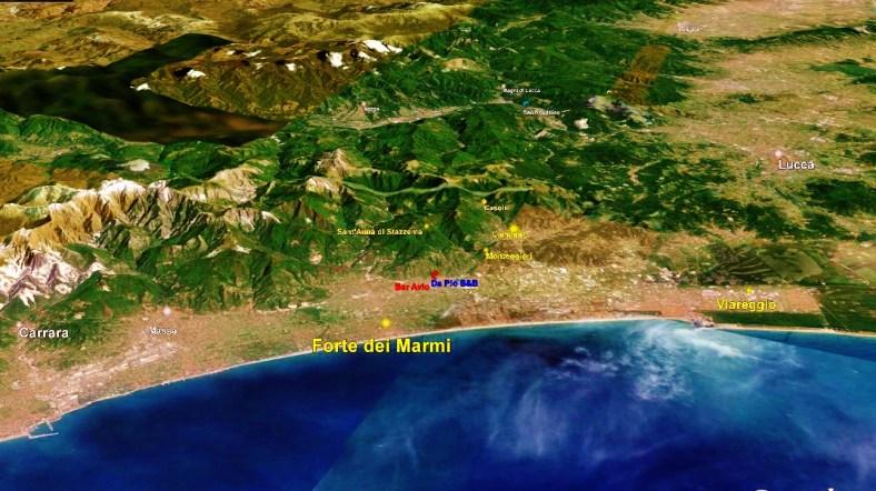 Forte dei Marmi Map 2, Google Earth