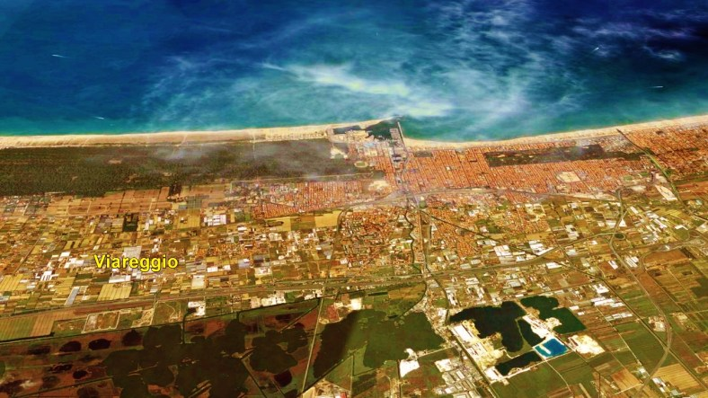 Viareggio Map 4 Google Earth