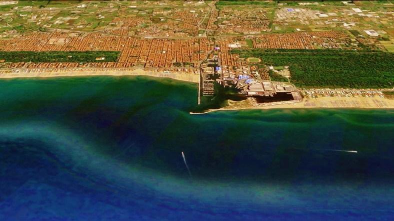 Viareggio Map 6 Google Earth