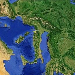 North West Tuscan Way Big Map 1 Google Earth