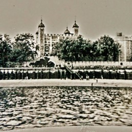 The Tower of London, early sixties, London, England, UK.