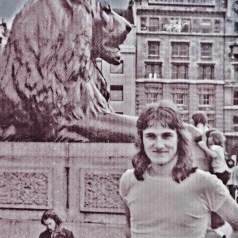 Martin Cooney, Trafalgar Square, London, England, UK