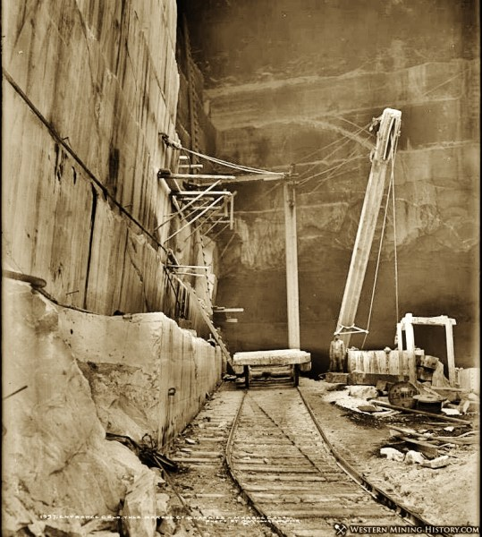 Yule Marble Quarry, 1913a (2)