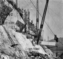 Yule Marble Quarry, 50 Ton Hoist, historical