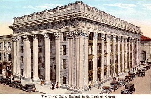 First National Bank Building, Portland Oregon