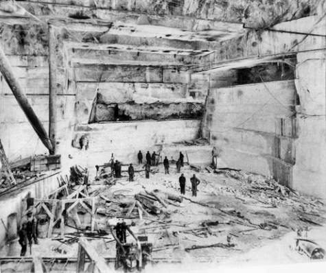 Yule Marble Quarry, Historic Interior