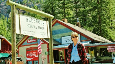 Kris Cooney, Redstone General Store, Redstone, Crystal River Valley, Along The Aspen Marble Detour, Colorado, by Martin Cooney