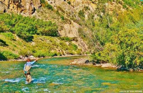 Crystal River Fly Fishing, Along the Aspen Marble Detour