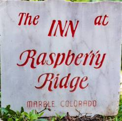 Papa's Pinecone Path 3, Inn at Raspberry Ridge, Marble Colorado, Along The Aspen Marble Detour