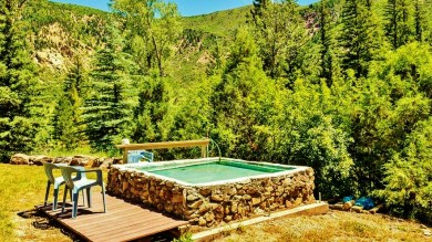 Waterfront Cabin with Shared Hot Springs 6, Redstone Colorado, Along the Aspen Marble Detour