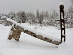 Eastern Portal, First Snow to fall whilst carving the 1314 Winter Collection