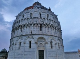 Pisa, The Place of Miracles, Baptistery, Tuscany, Italy
