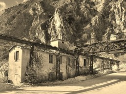 Carrara marble quarry, Tuscany, Italy