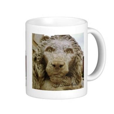 Lion of Massa, The Curious One, Mug, Right, Zazzle