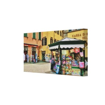 Pontremoli Newsstand Kiosk, 22 x 11, Wrapped Canvas Print, right