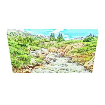 Roaring Fork River, Headwaters No. 3 Canvas Print down