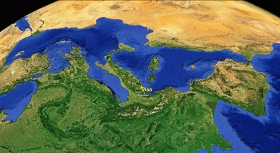 North West Tuscan Way Big Map 3 Google Earth