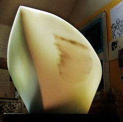 Titanic, The Maiden Collection, Colorado Yule Marble Sculpture by Martin Cooney,Birdhaven Studio, Woody Creek CO