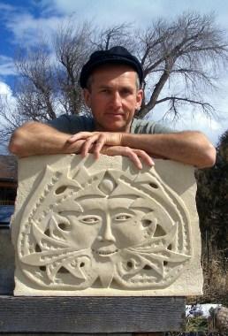 Elky / Minty, Martin Cooney, author martincooney.com, Stone Sculptor, Woody Creek, Colorado