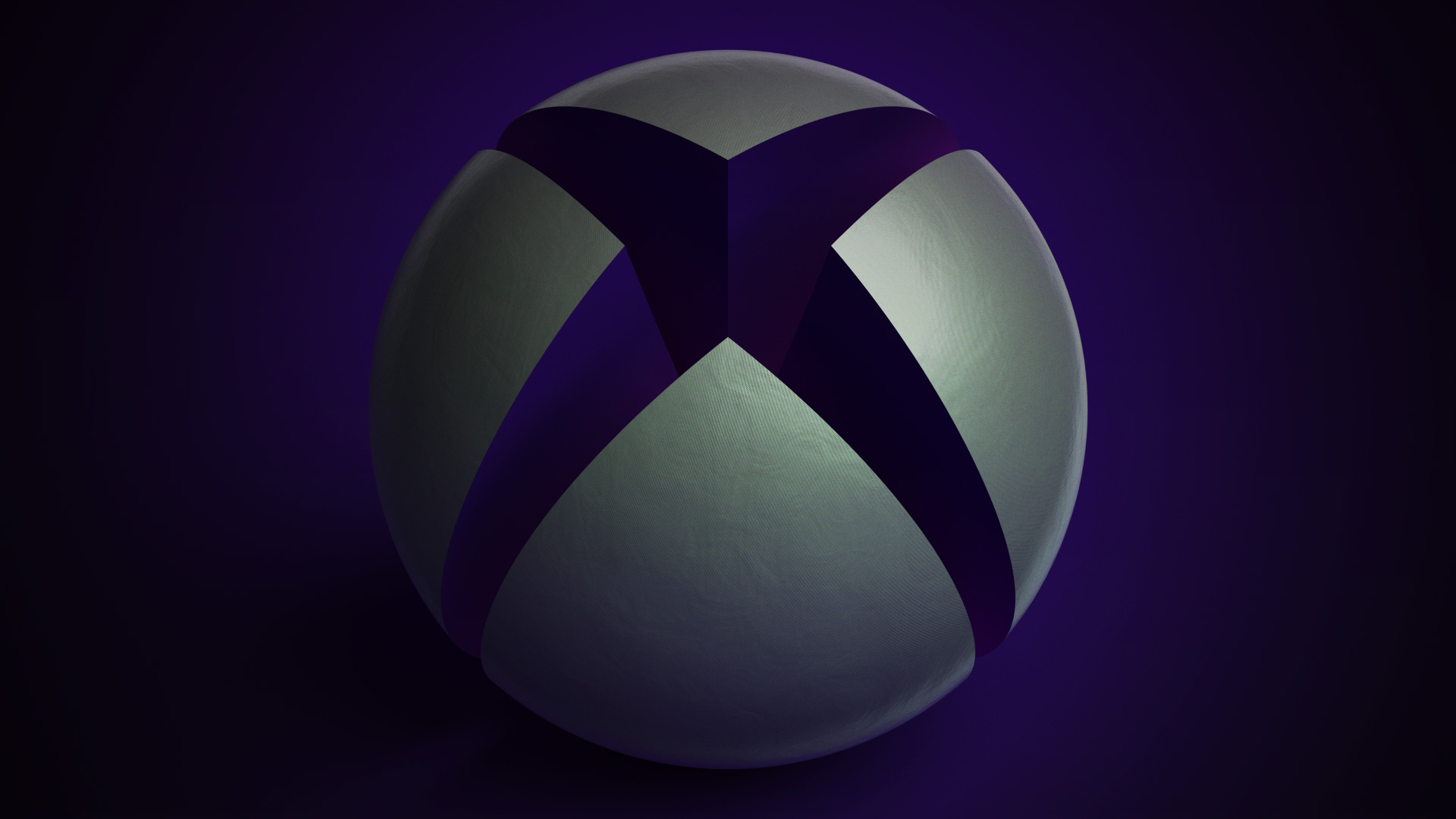 X1bg Giant Xbox Sphere Purple Dark Martin Crownover