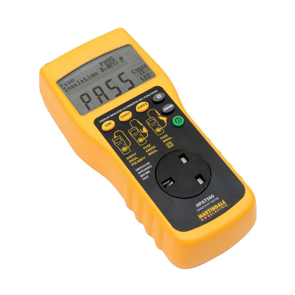 hight resolution of martindale hpat500 2 simple rechargeable pat tester