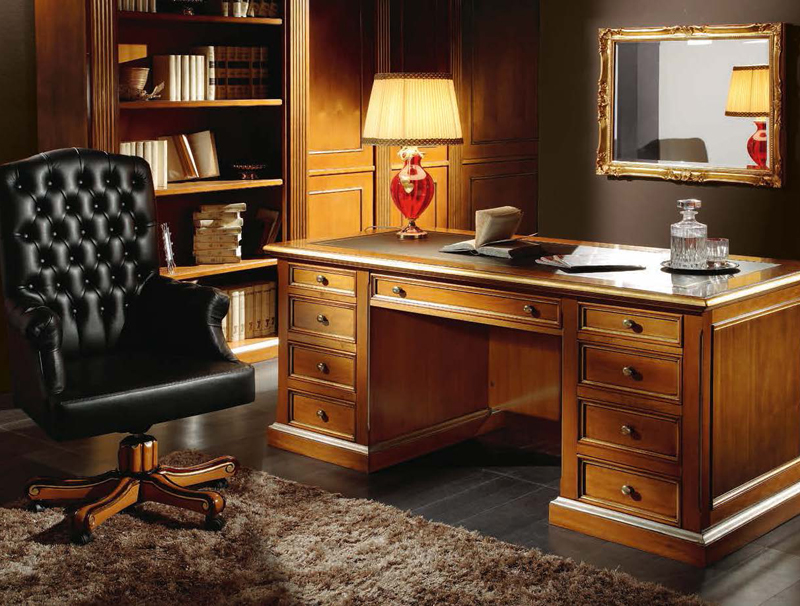 desk chair home office steel furniture martin daniel interiors classic executive collection