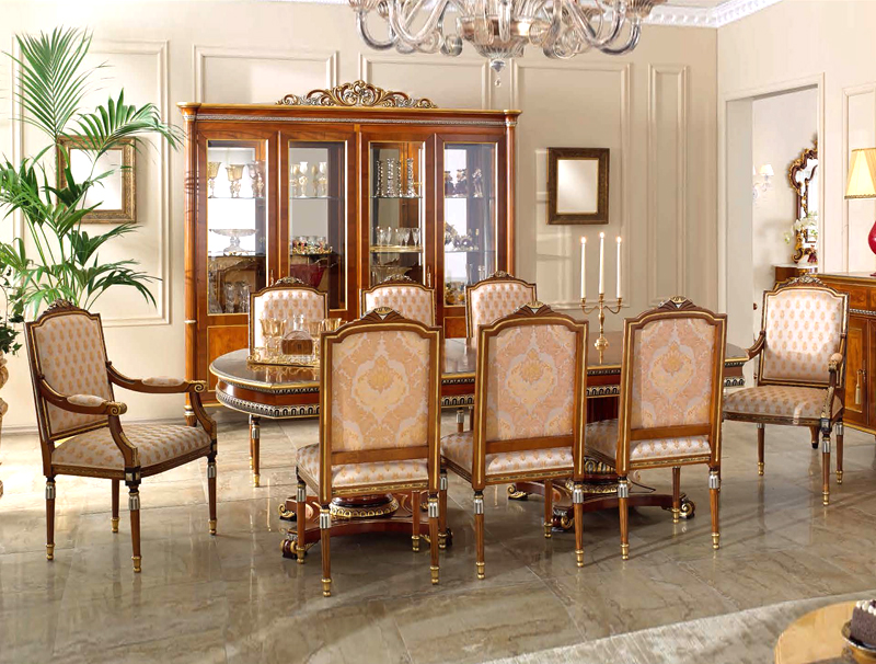 Martin Daniel Interiors Classic Italian Dining Room Collection
