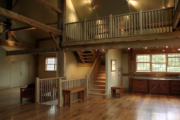 Old Barns Renovated into Homes