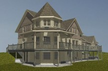 House Plans with Turrets