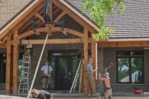 Timber Framed Front Porch Joy Studio Design
