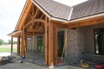 Timber Frame Front Porch Joy Studio Design