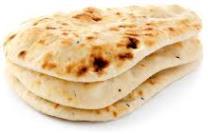Pain naan pour le Poulet masala au beurre