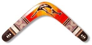 Boomerang pour le Kangourou en salade