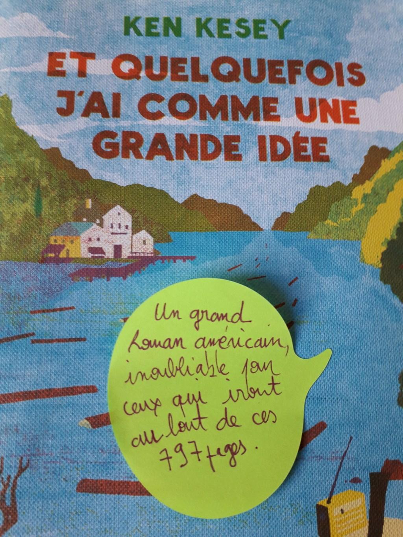 Et Quelquefois J Ai Comme Une Grande Idée : quelquefois, comme, grande, idée, Quelquefois, Comme, Grande, Idée, Kesey, Monde, Martin