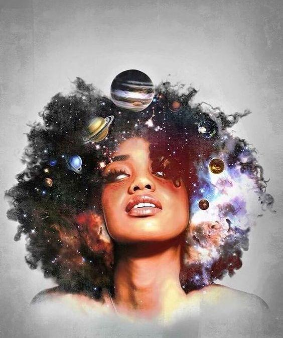 Faites de plusieurs mondes, je suis un univers sur terre.
