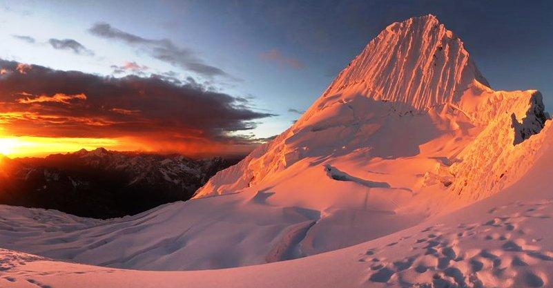 Expedicion Andes peruanosVallunaruaju 5686mAlpamayo