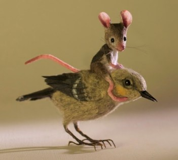 Maggie Rudy - bird&mouse