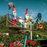 gnomes on the bridge