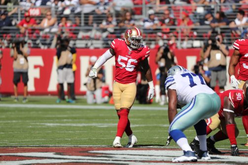 Dallas Cowboys vs San Francisco 49ers 40 - 10 Cowboys
