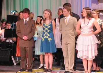 Reese Richardson on left in ensemble