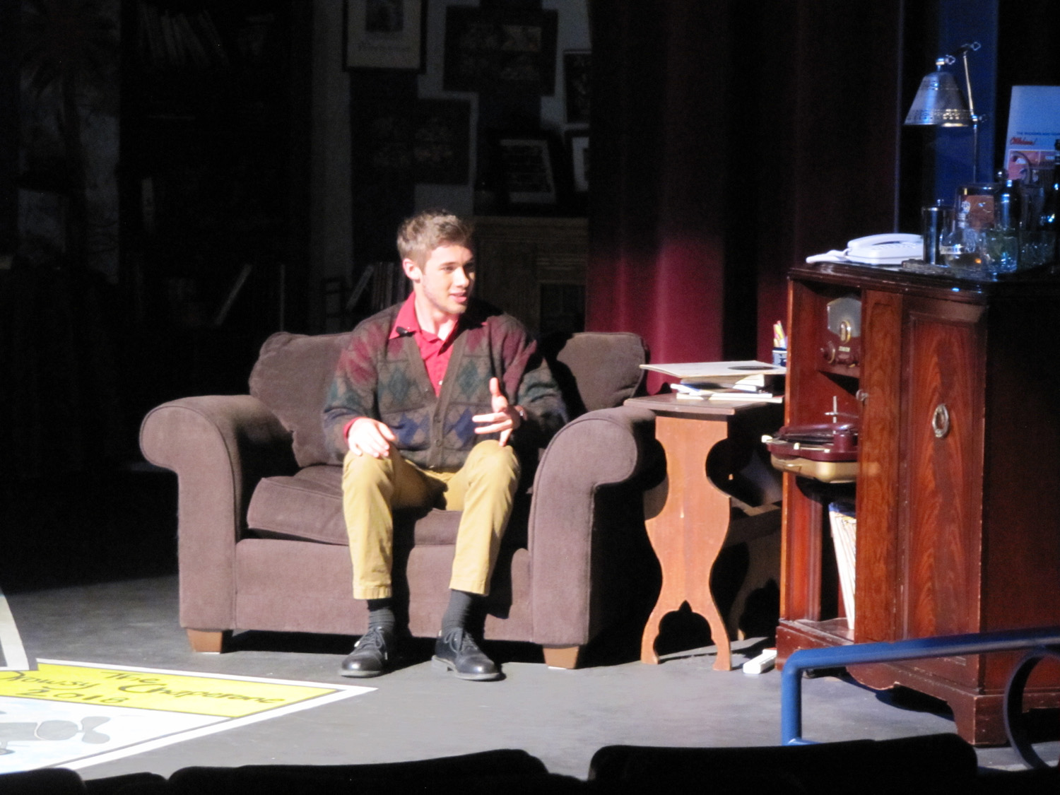 William Francis as Man in Chair 2