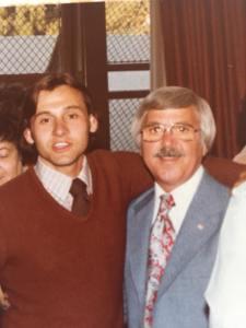 Tim Farley with John Sparacino