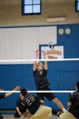 #6 Logan Hancock Alhambra Boy's Volleyball vs Concord High School Photos by Mark Fierner Martinez News-Gazette