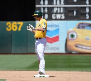 Oakland A's vs Houston Astros Stephen Piscotty Photos by Gerome Wright Martinez News-Gazette