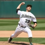 A's Mengden Throws Two Hit Shut Out