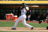 Oakland Athletics vs D-Backs #10 SS Marcus Semien Photos by Tod Fierner Martinez News-Gazette