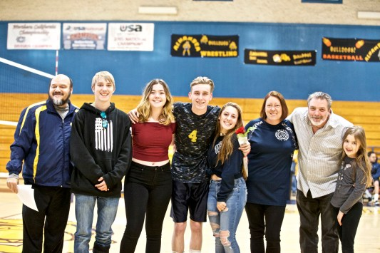#4Tyler Caspar Alhambra Boy's Volleyball Senior Night Photos by Mark Fierner Martinez News-Gazette