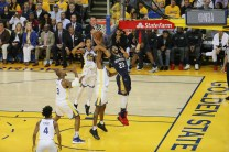 Golden State Warriors vs New Orleans Pelicans. Game #5 Photos by Terrell Lloyd Martinez News-Gazette