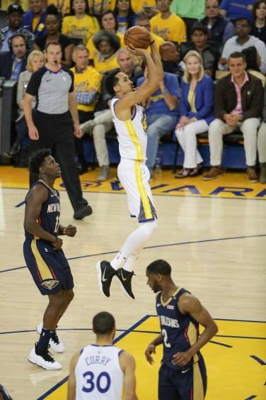Golden State Warriors vs New Orleans Pelicans. Game #5 Photos by Terrell Lloyd Martinez News-Gazette